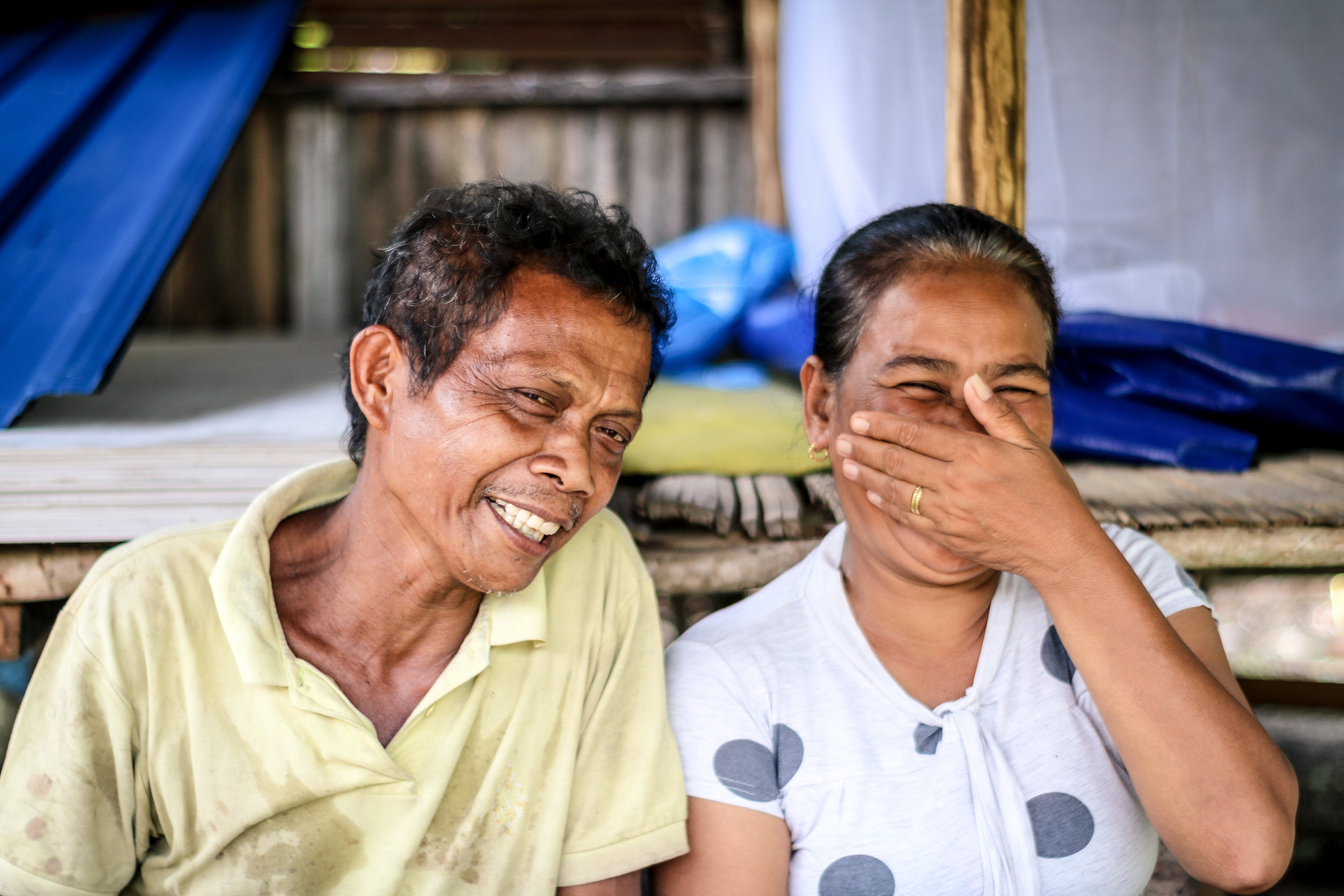 Belcion and Olfin – still finding the strength to smile   [Image: Paola Barioli/Medair]