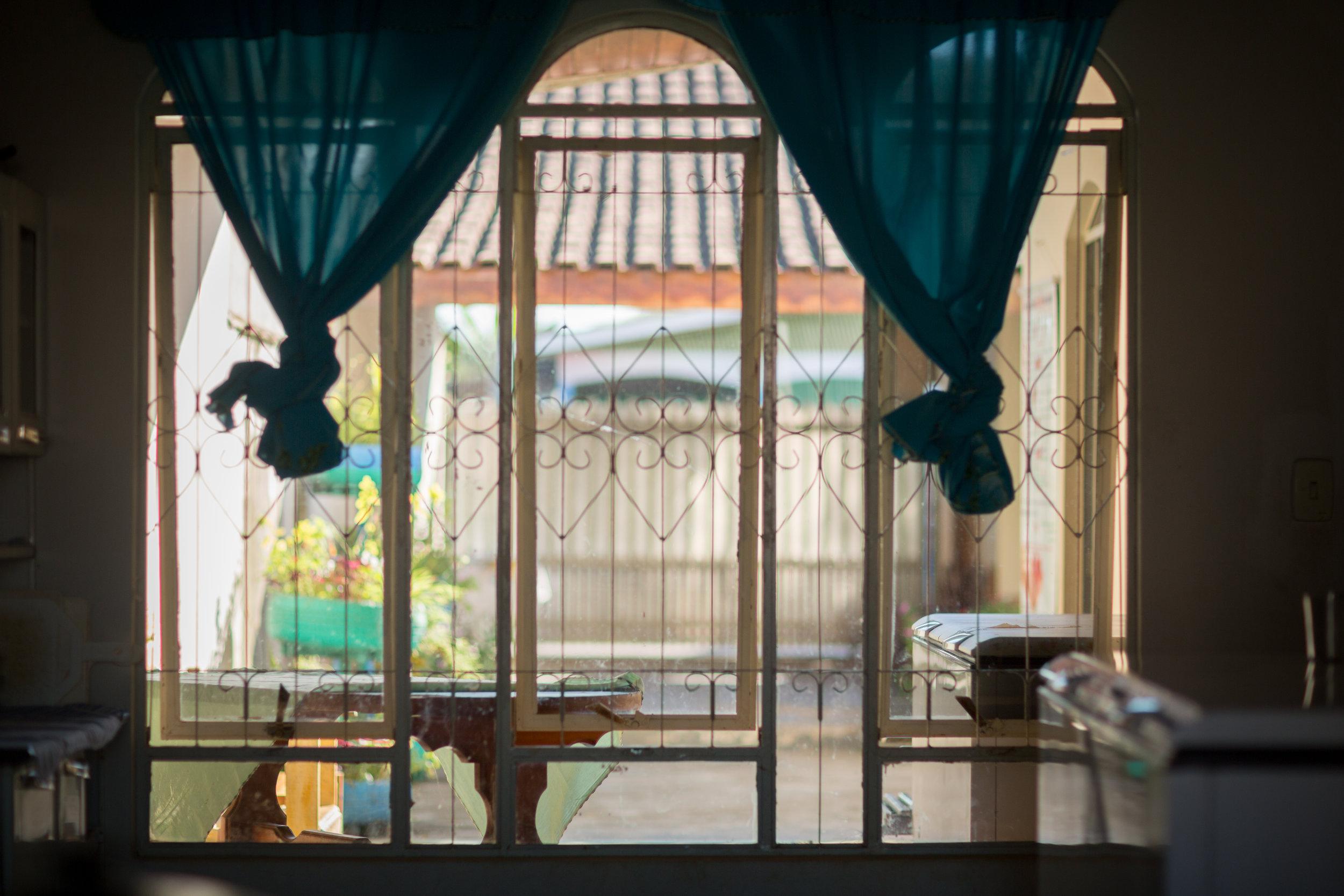 Inside the Casa Noeli safe house