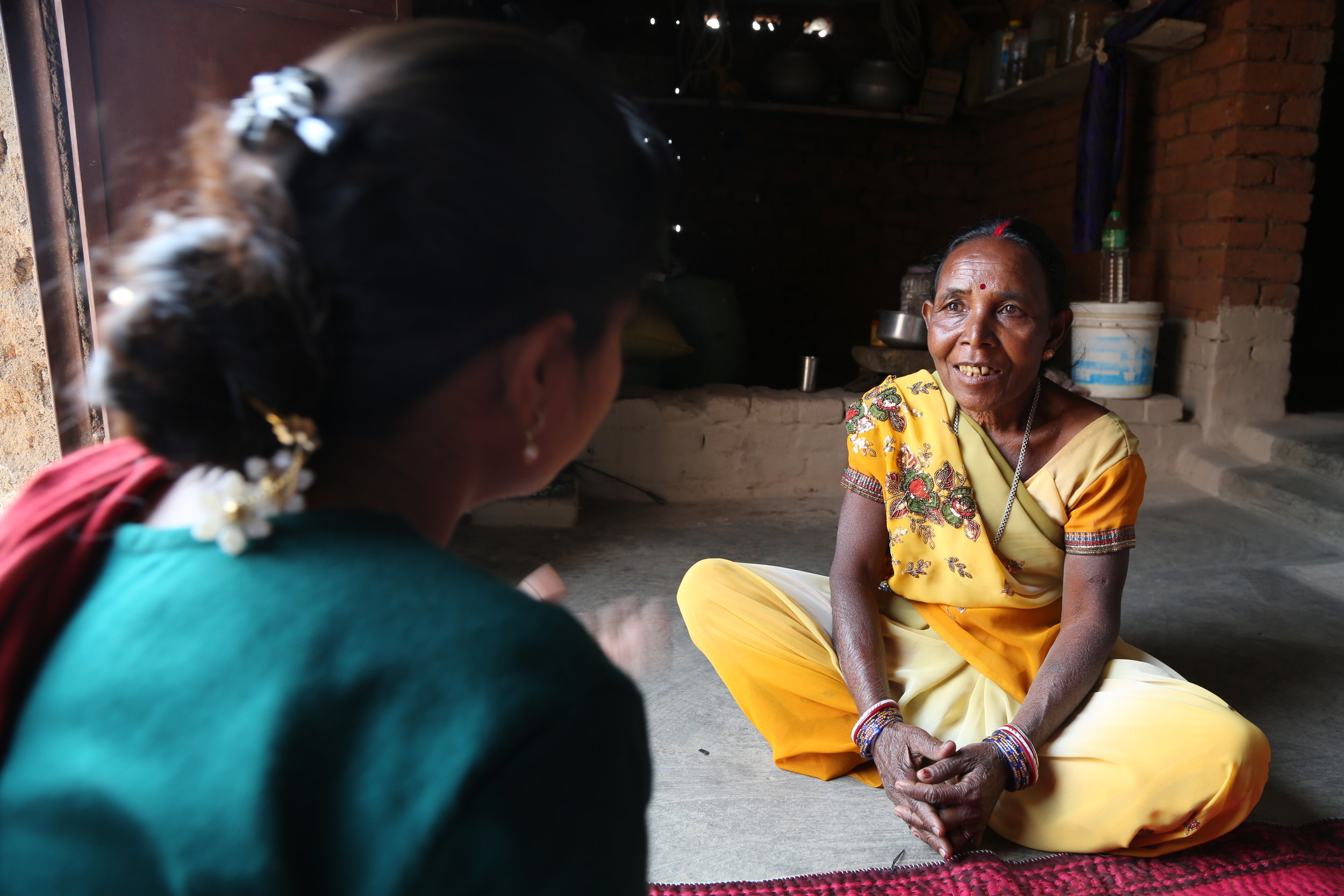 After receiving training supported by the partnership between All We Can and WDR Manato went on to lead a women's self-help group in Jharkhand, India [Partner:  The Srijan Foundation ]