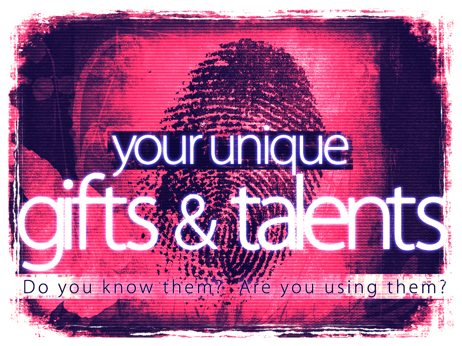 Do you know what your unique gifts and talents are as a singer? Are you using them?