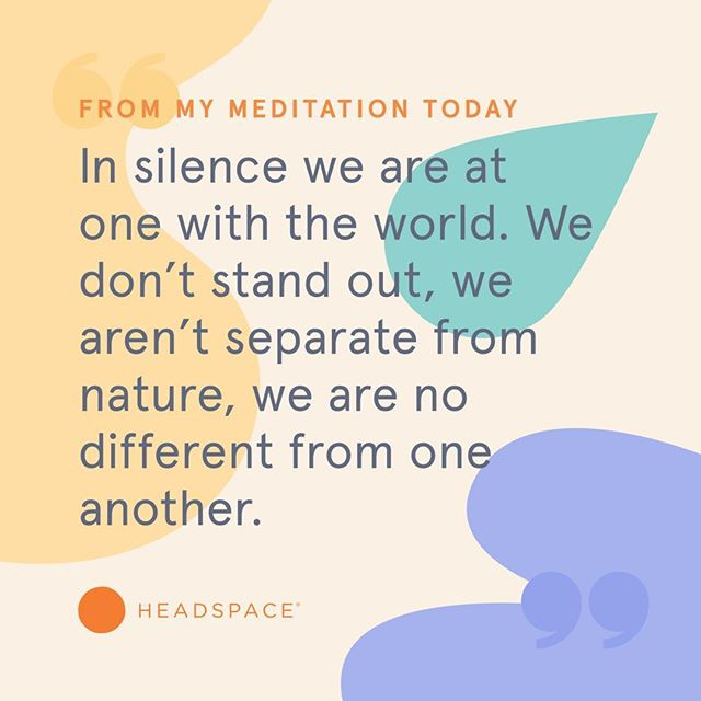 Today's #wordsofwisdom . . . #headspace #mindfulness #meditation #ordinaryISextraordinary