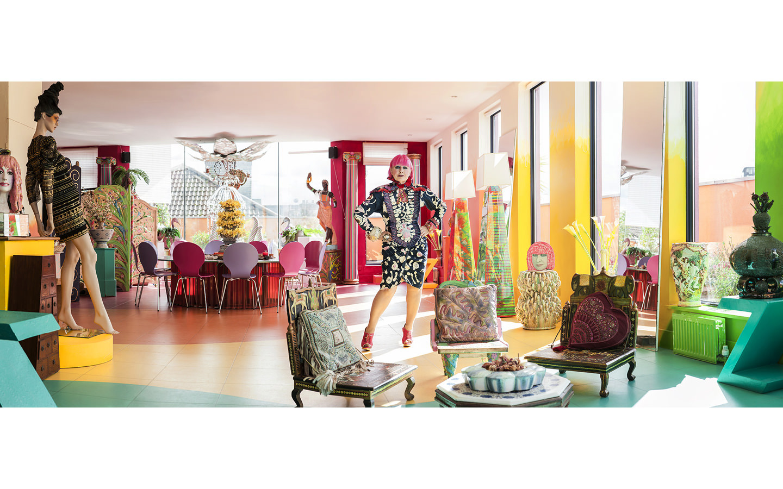 Zandra Rhodes - Fashion Designer