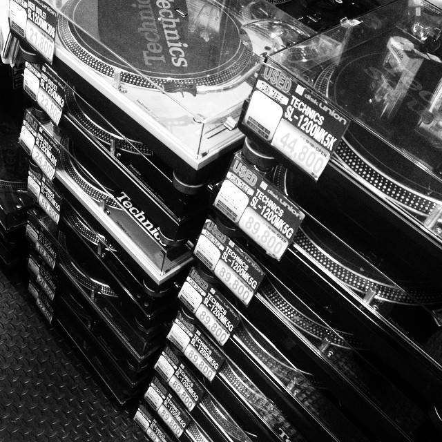 #technics #disk Union #Tokyo #Shibuya #japan    (στην τοποθεσία DISK UNION 渋谷 club music shop)