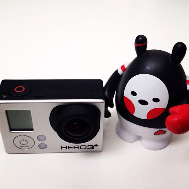 Gopro hero3+ with Dudebox