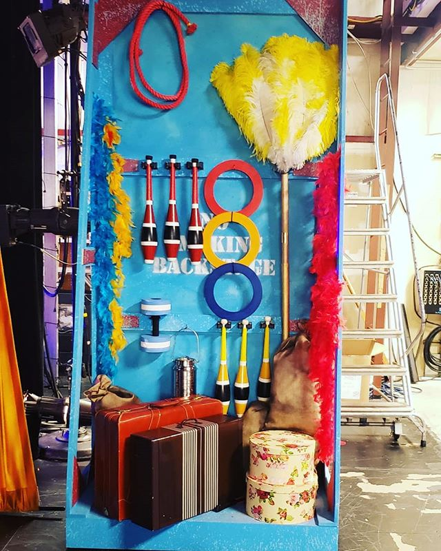 Set Dressing for days 🎪