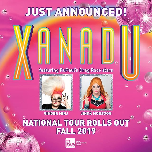 Very excited to work on this show!!! 🌈 @rws_nyc @xanadutour  #propsistops #raiseyourexperience #propsdesign