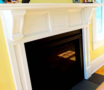 Custom millworking to bring out the most of your hearth.