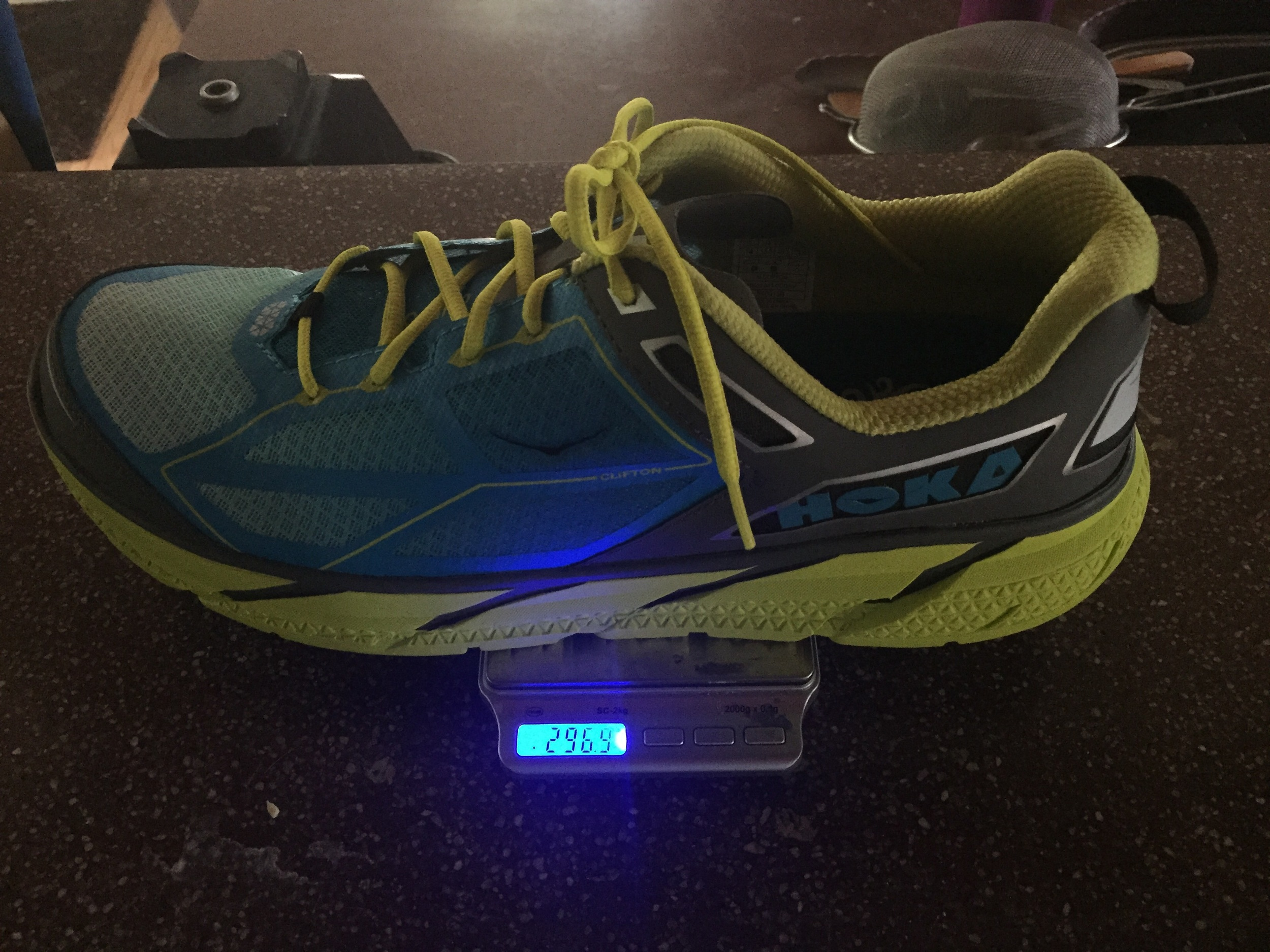 296g, featherweight training shoes