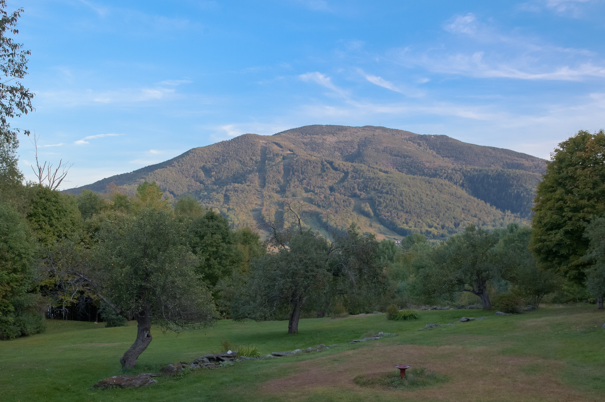 View of Ascutney from the Brown's house.