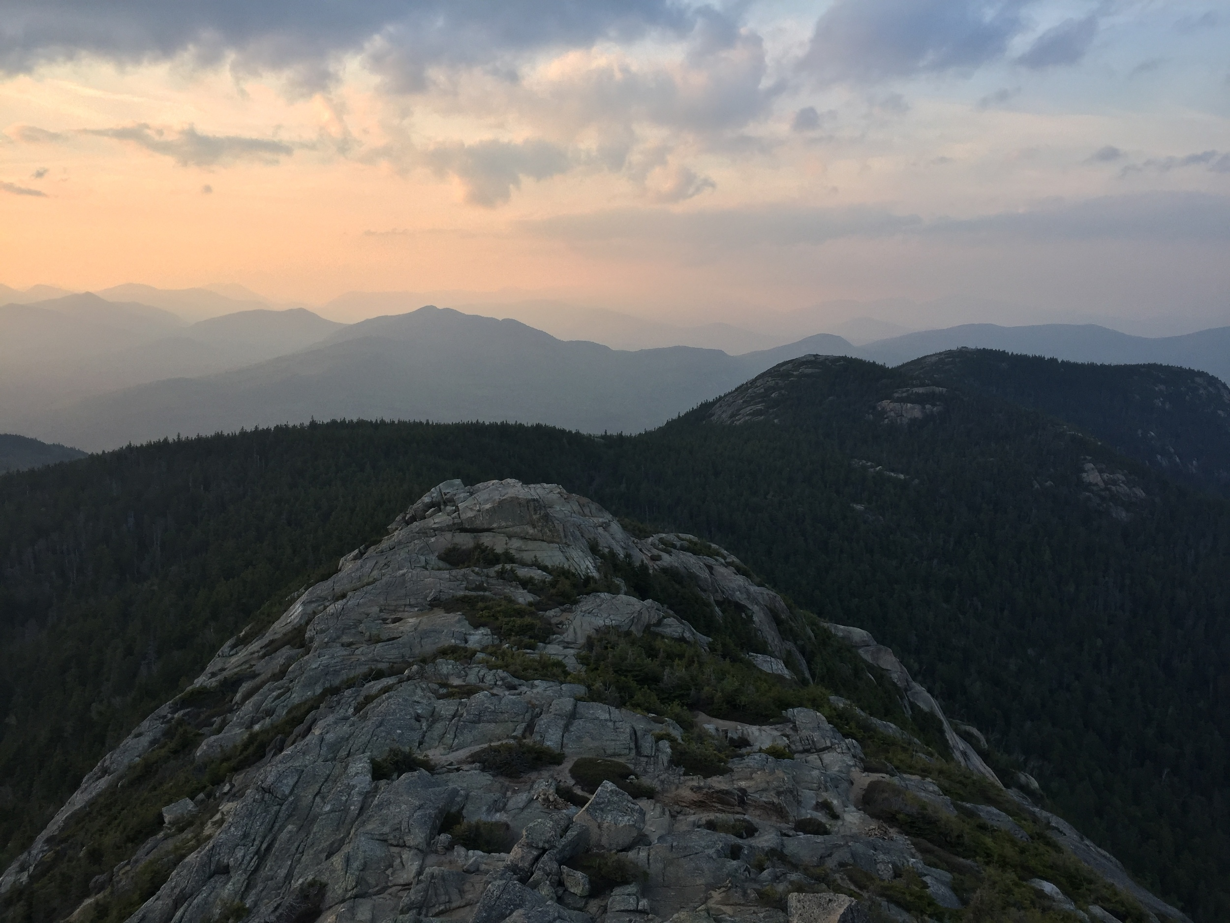 Northern view from summit of Mount Chocorua.