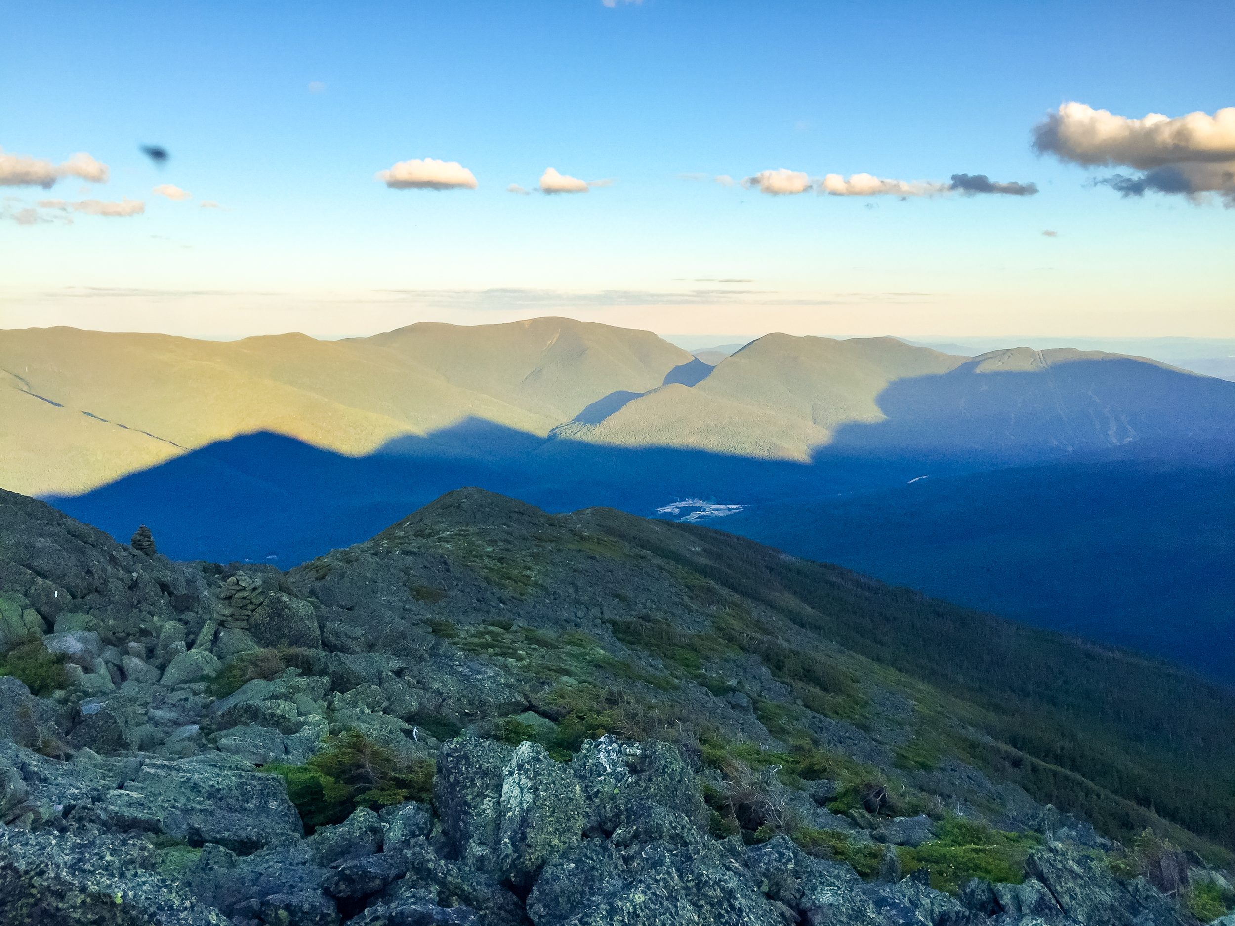 View of Carter Notch from Summit of Madison.