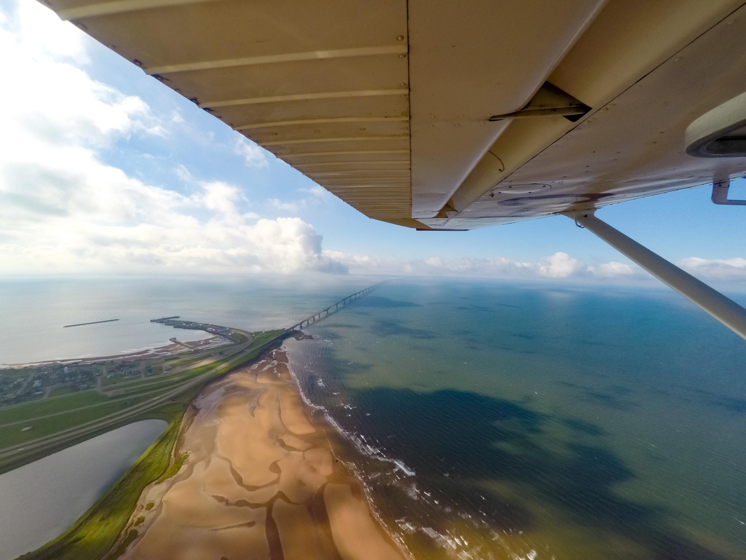 Prince Edward Island Flyover, Confederation Bridge
