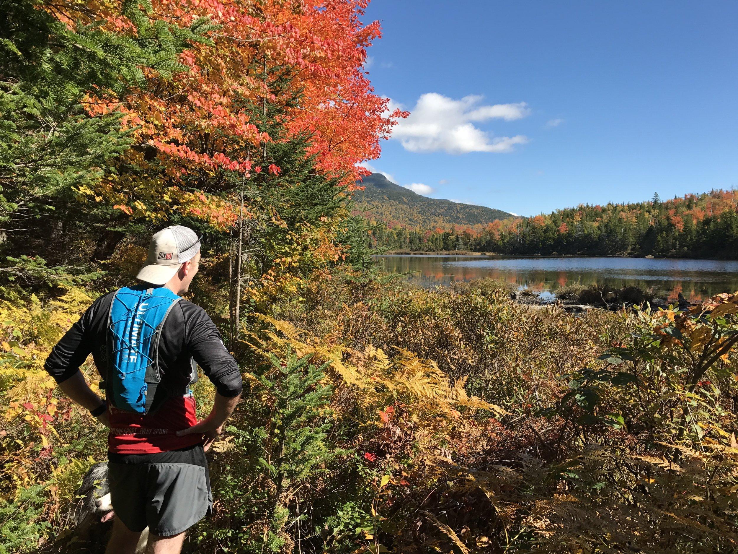 Tom Hooper - Flat Mountain Pond Foliage