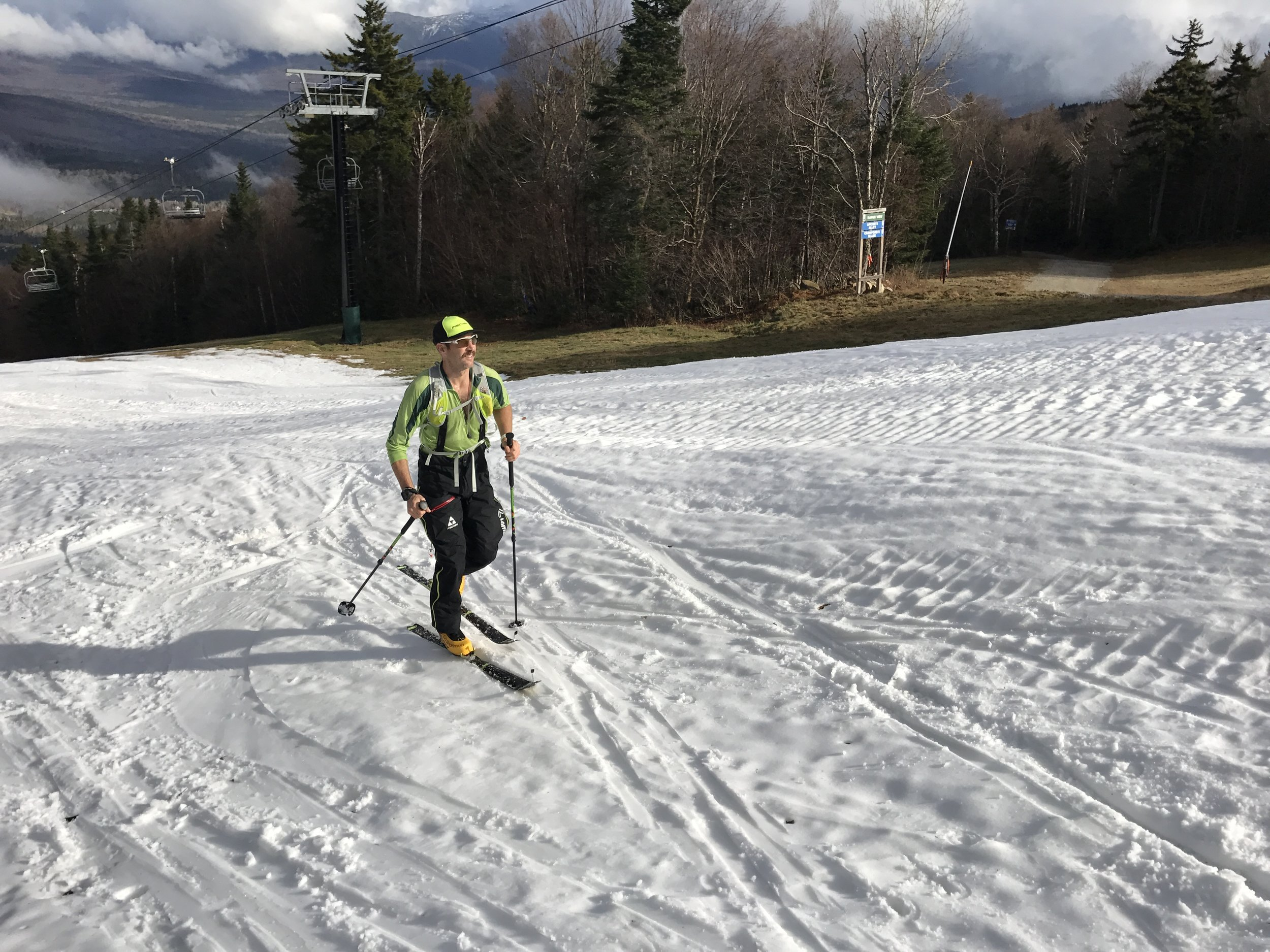 Early Season Skin up Bretton Woods