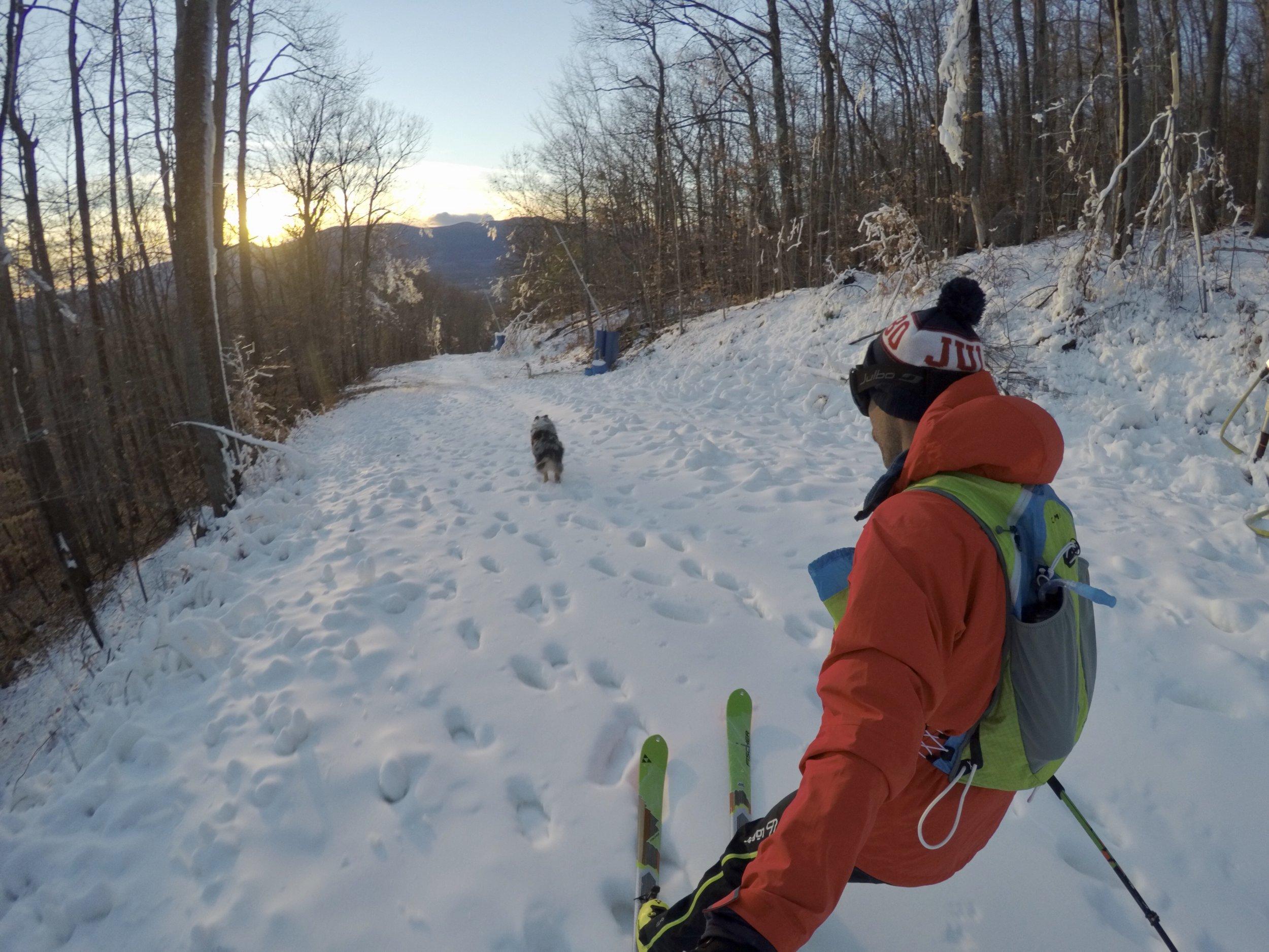 Early Season Ski at Cranmore