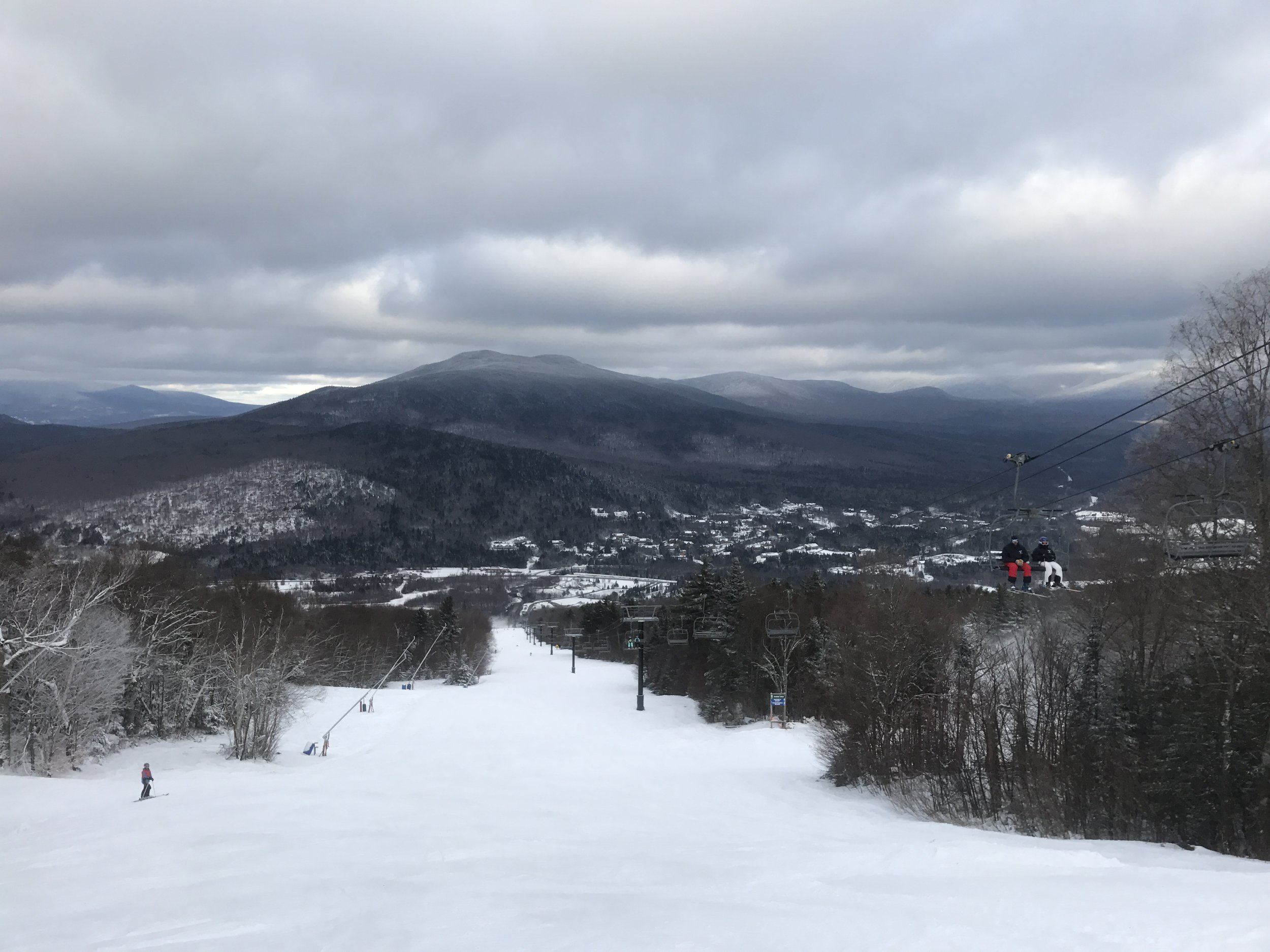 Bretton Woods - View from the zephyr chair