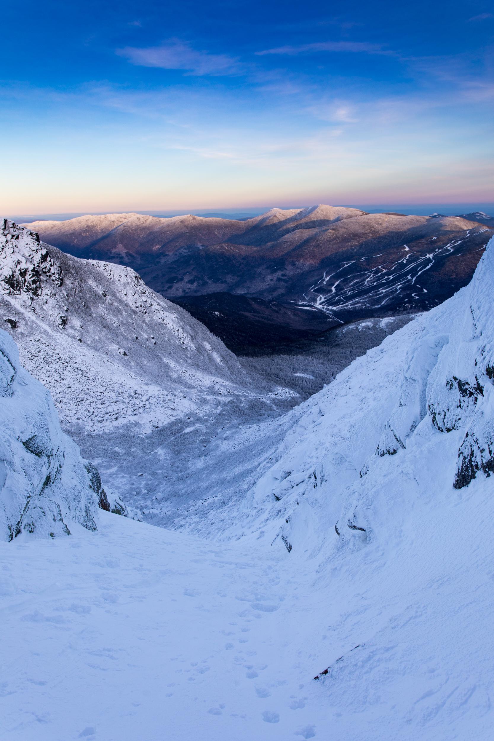 Left Gully view of Wildcat Ski Resort