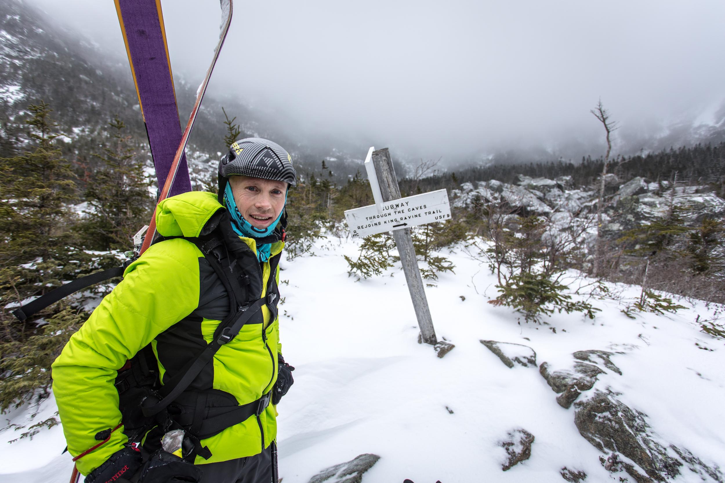 Ryan Kelly - King Ravine Boulder Field