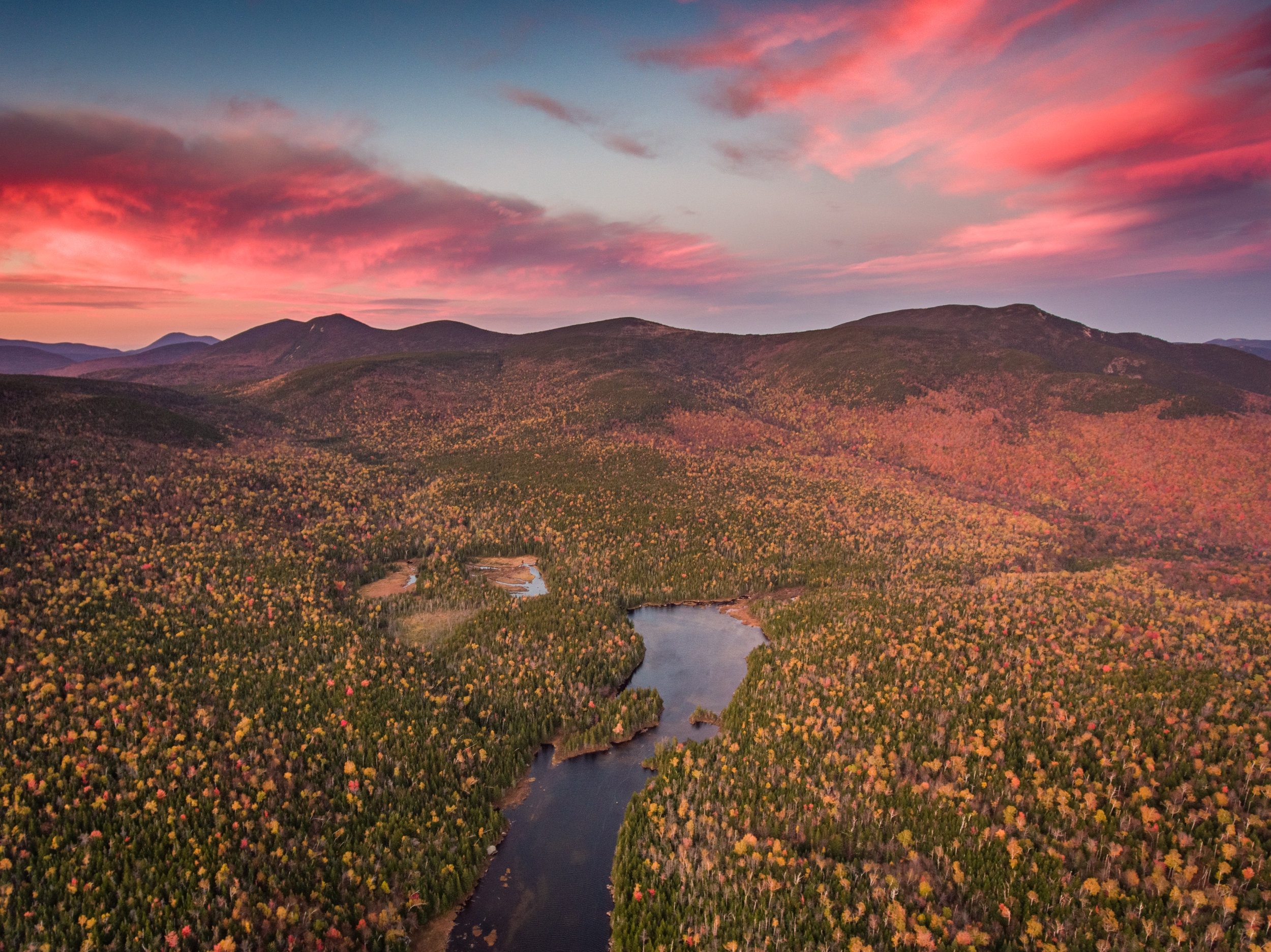 Flat Mountain Pond NH Sunset.jpg