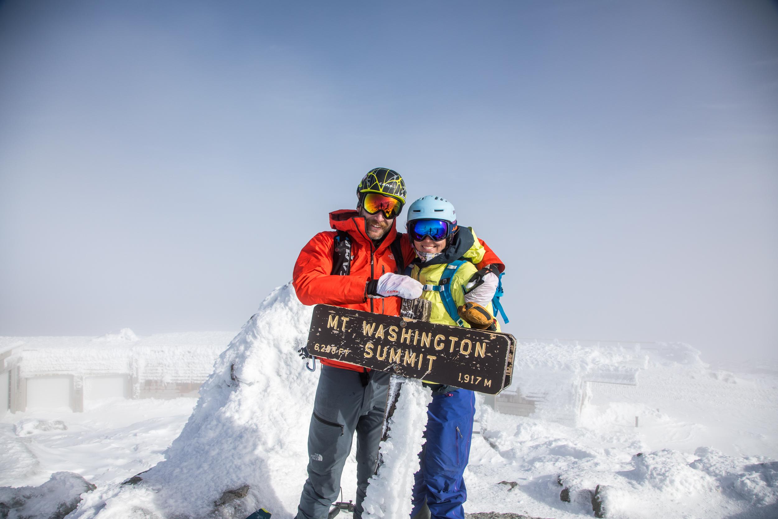 Andrew Drummond Hilary McCloy Summit Mount Washington.jpg