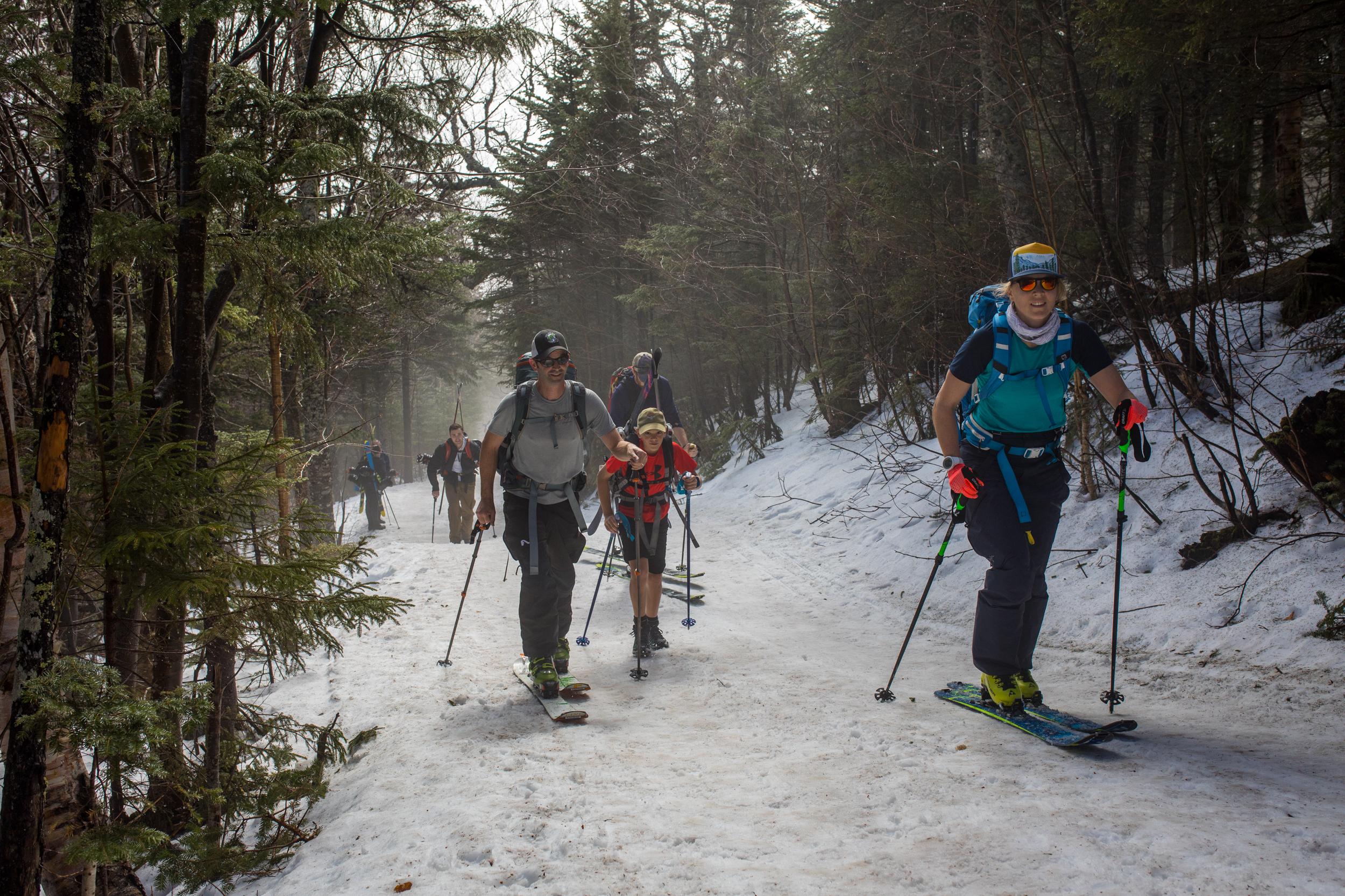 Tuckerman Ravine Trail Skinning.jpg