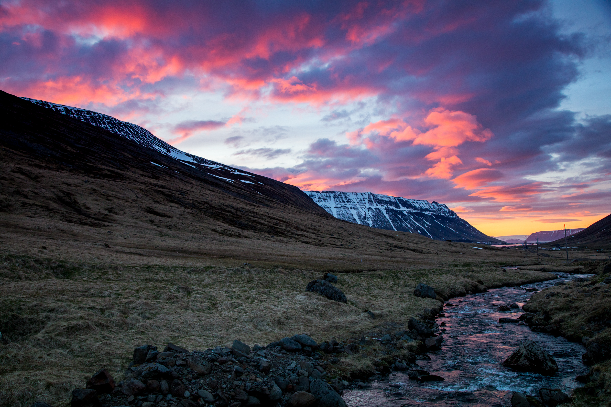 The endless light in Iceland turned out to be the highlight of the trip.