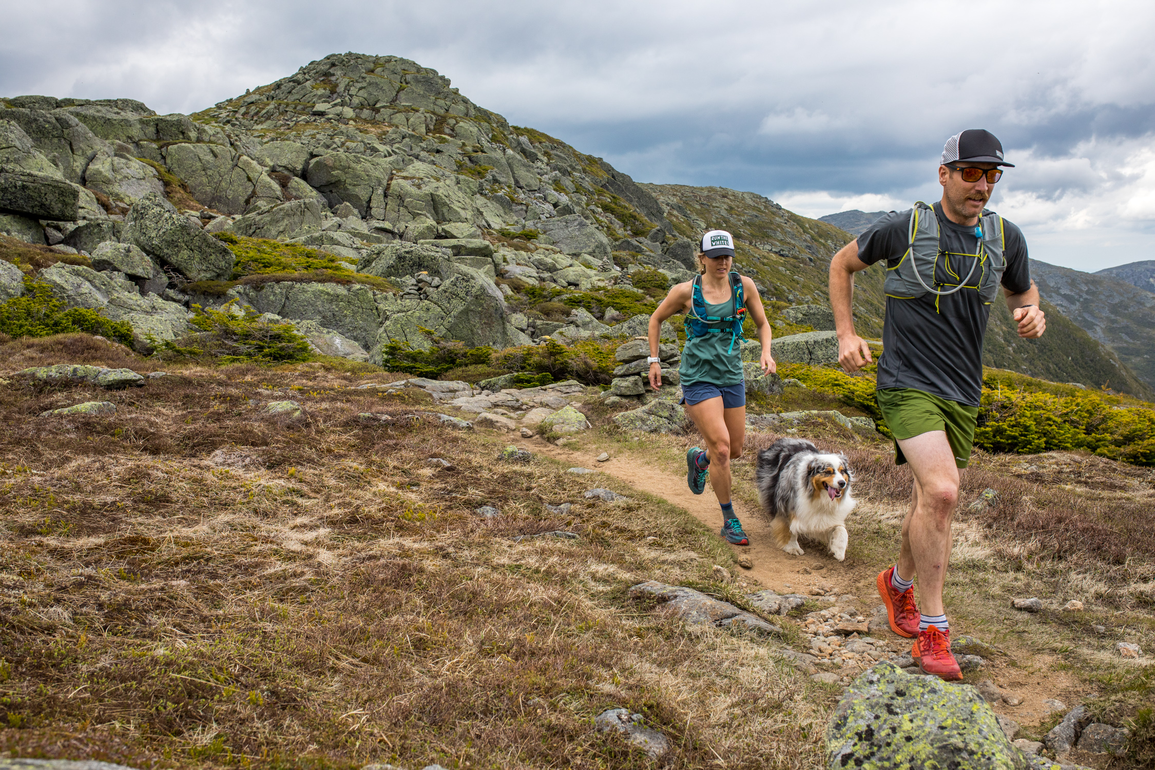 Running with my squad in the Northern Presidentials.