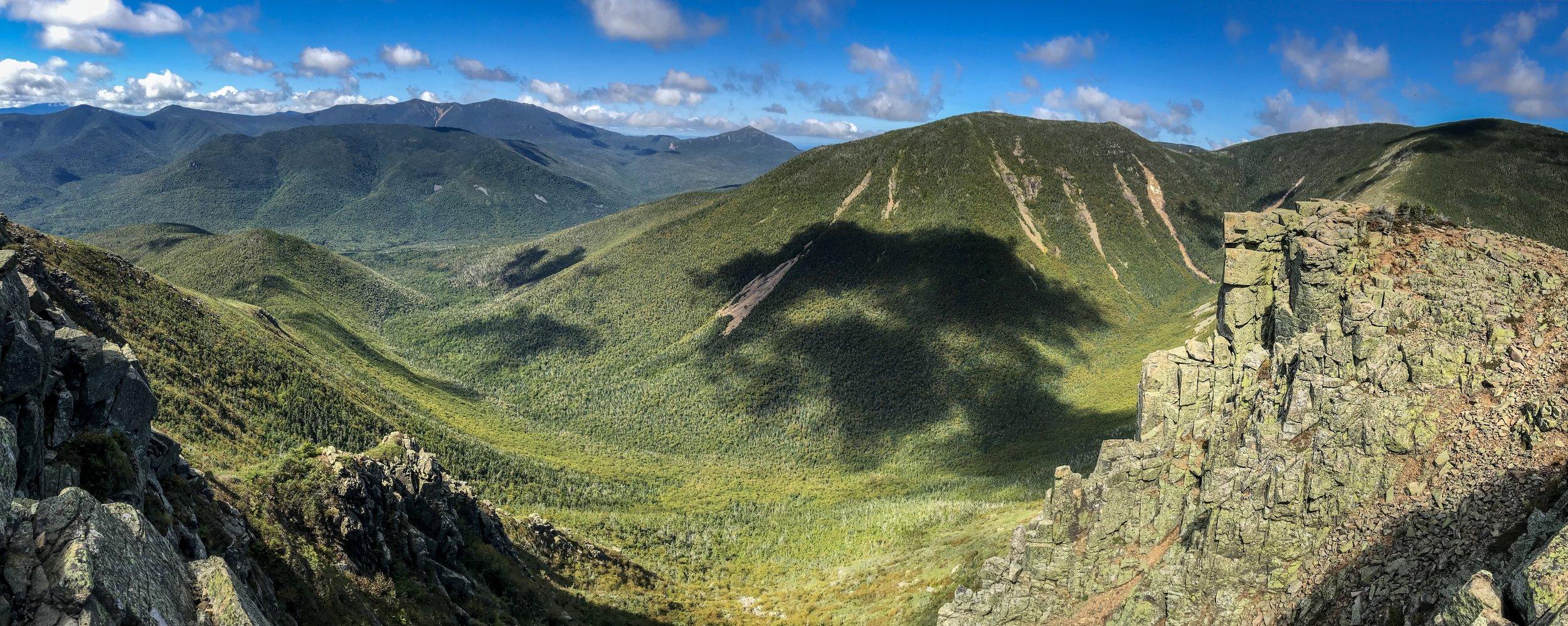 Bond Cliff and the Pemigewasset Wilderness.