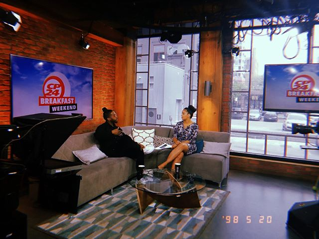 What did you have for breakfast? @cp24breakfast 🙏🏾 Thank you for having me!  ___________________________________ W I N T E R  I N  S T  L U C I A  A V A I L A B L E  N O W  E V E R Y W H E R E  LINK IN BIO • 🏝❄️☀️🌊🔥🇱🇨 . . . . . . #winterinstlucia #single #hiphop #jazz #reggae #music #halifax #stlucia #toronto #canada #caribbean #socold #kayo #eastcoastlifestyle #torontorappers #followthefeather #soulstice #ecma #ecma2018 #cmw2018 #staronfox #cp24 #cp24breakfast