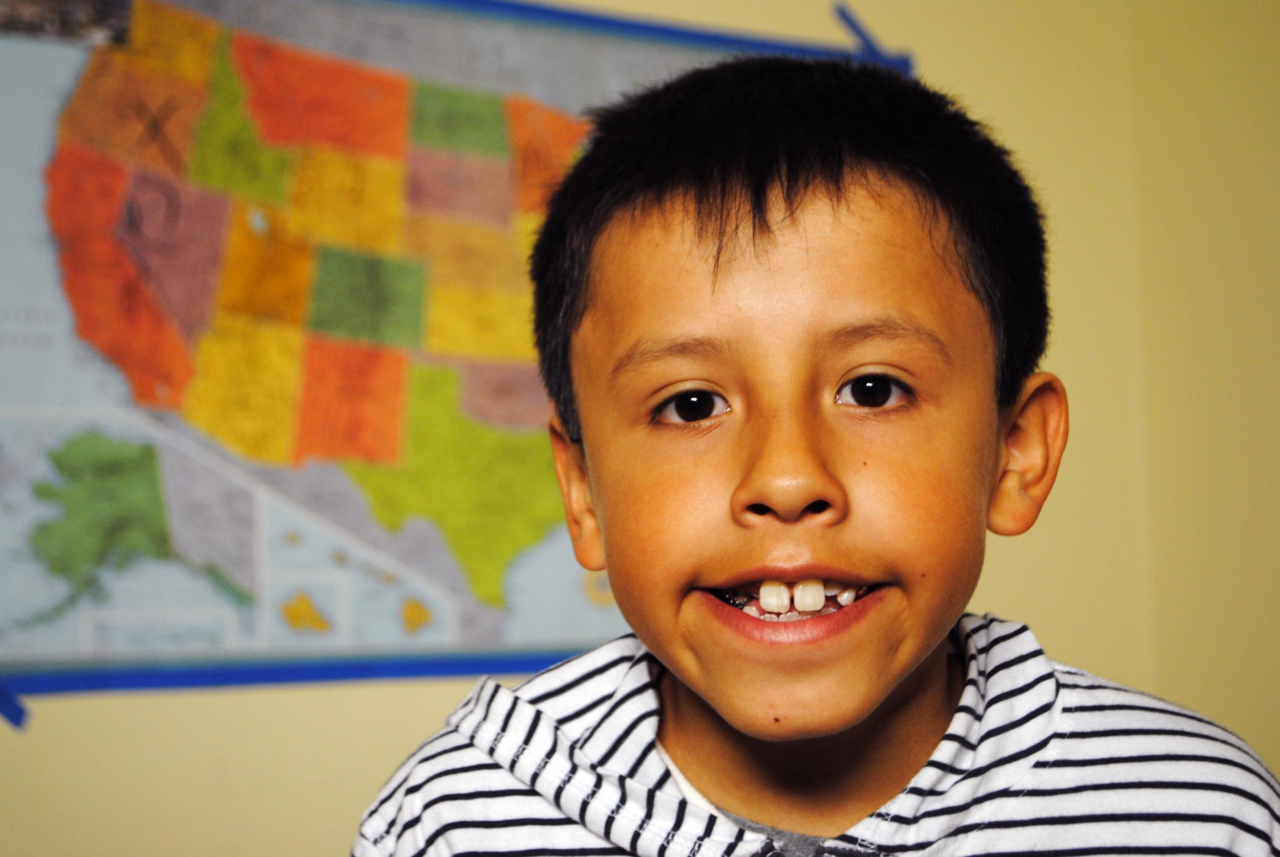 Roberto, Age 9