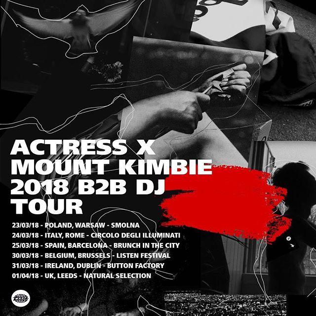 B2B Actress DJ Tour starts tonight 😈
