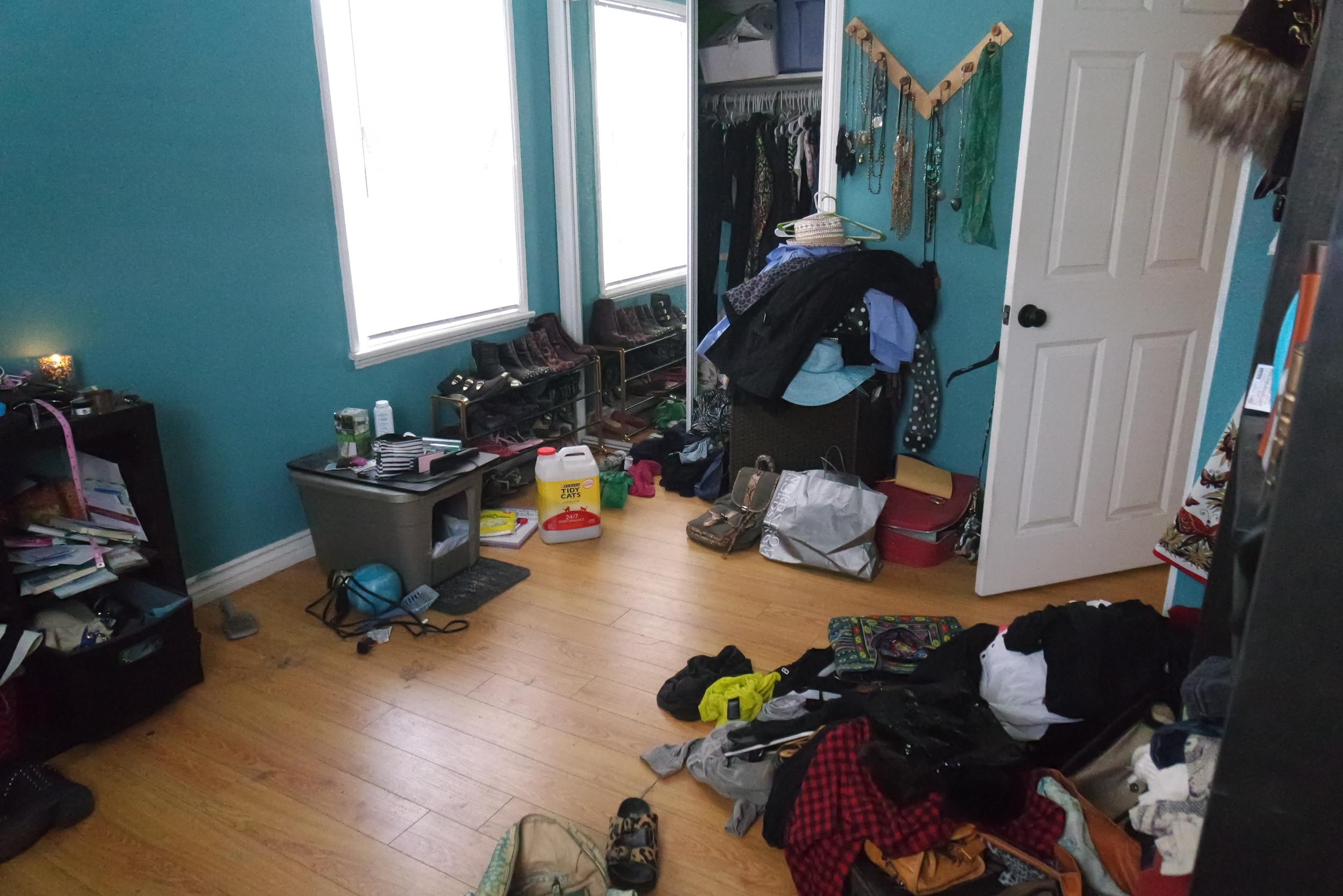 Before - Closet 2