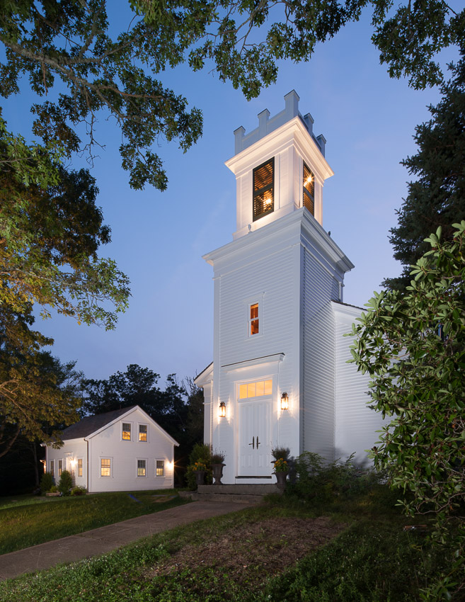 Complete exterior restoration of church and parsonage