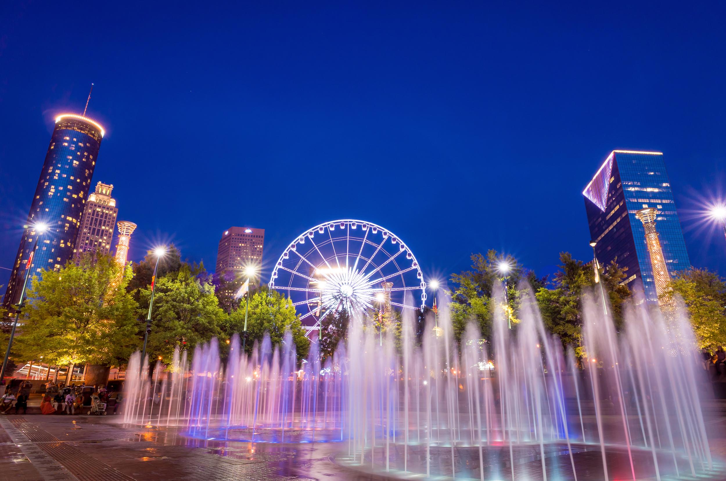 Atlanta Olympic Park (night).jpg