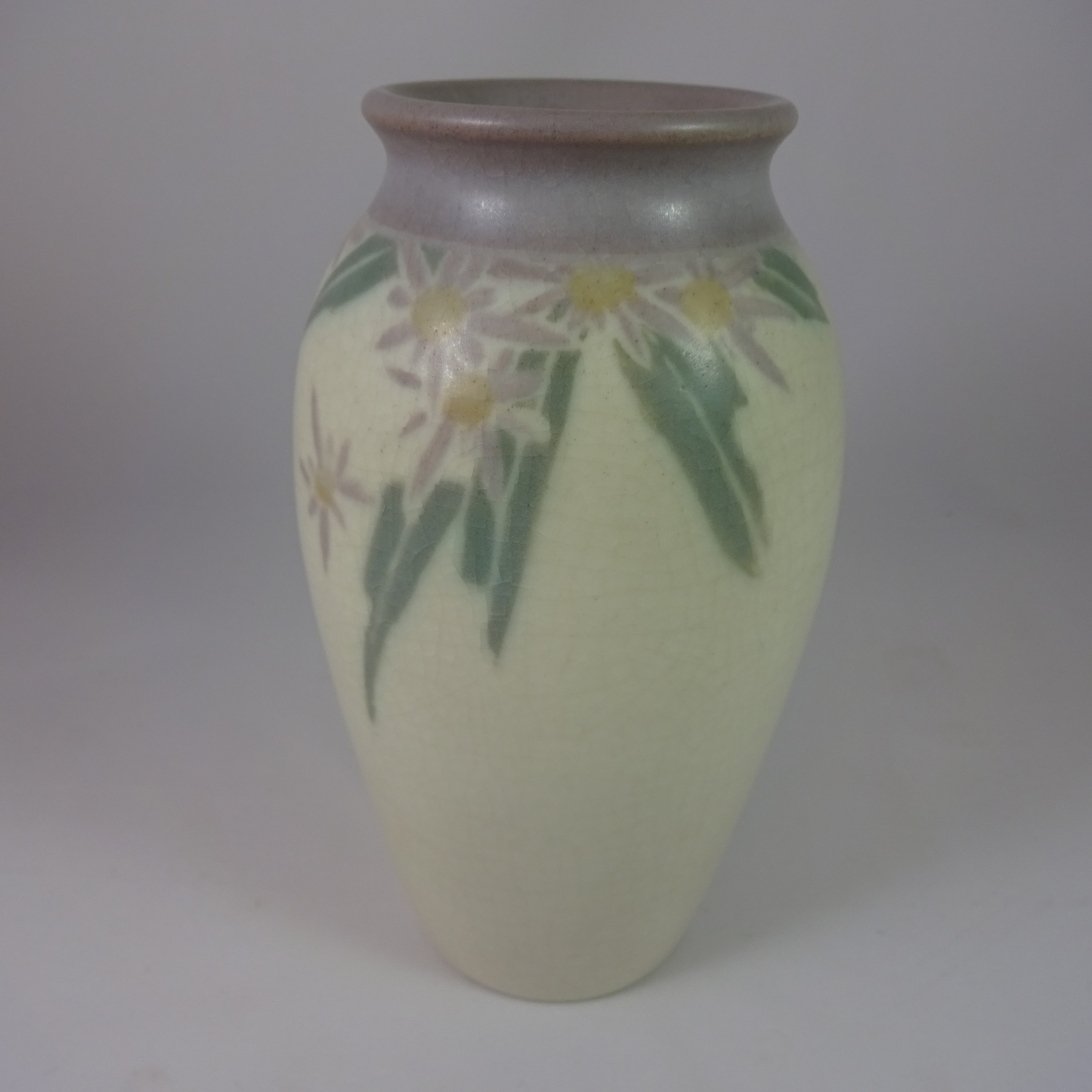 "Rookwood Vase (7.5"" high), signed by Lenore Asbury, circa 1913"