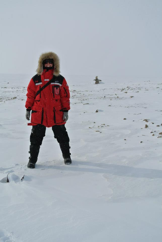 Me in my winter field gear during my 12 day stay in Resolute.