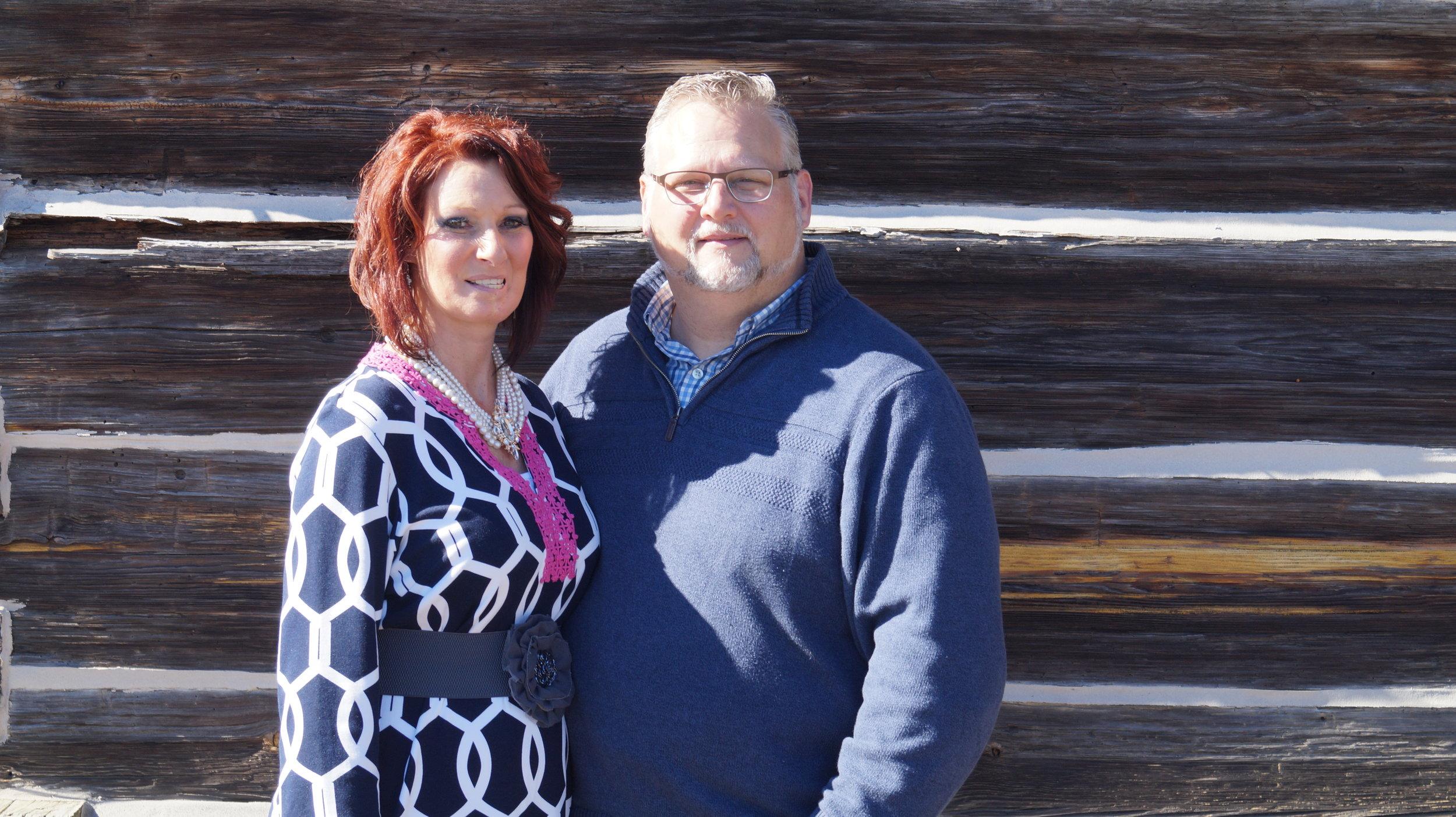 Lead Pastors Jim and Kim Mannon