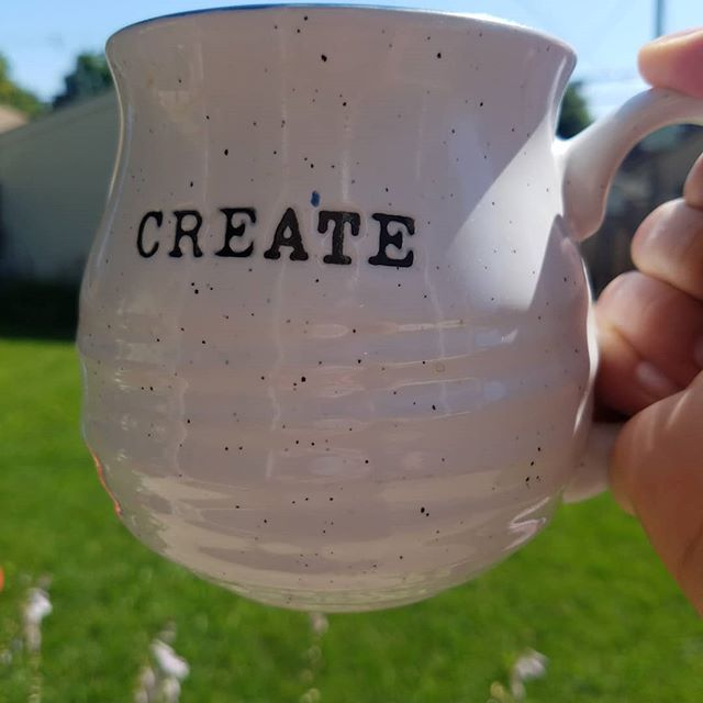 The three laws of art: 1. Create: The worst it can do is suck. 2. Create Again: Bad art happens to good artists. 3. Just Create: Art is cheaper than therapy.  So take some advice from my mug today and create something friends!  I'm creating a bunch of new packaging designs this week, how about you? . . . . . #createdtocreate #ladyceo #creativedirectorlife #seekthesimplicity #packagingdesign  #risingtidesociety #girlbosslife #smallbusinessowners #twincitiescollective #loveyourlife #mycreativebiz #yesyoucan #nissawilliamscreative #threelawsofart