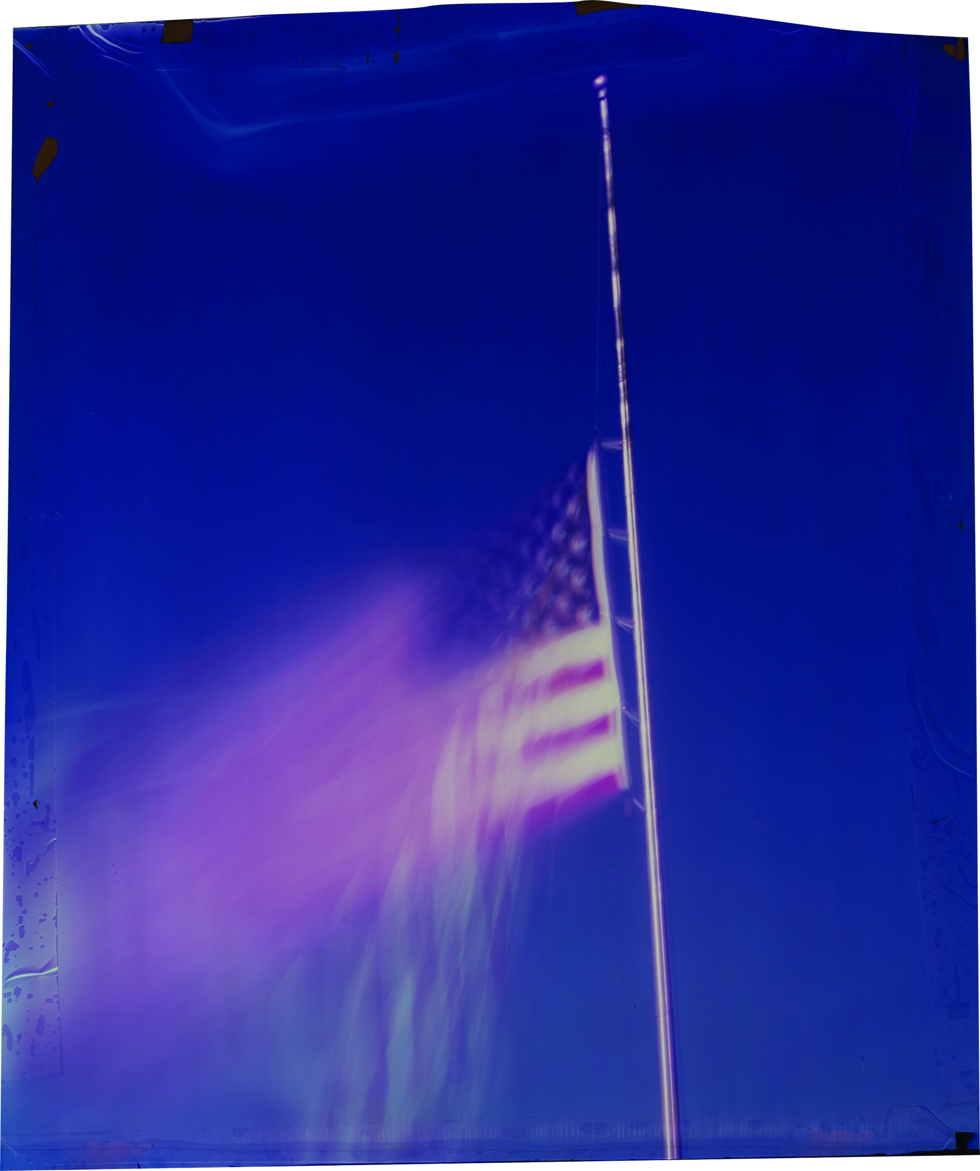 John Chiara ©  Sanderson at Corporation , Coahoma County, Mississippi, Camera Obscura Ilfochrome Photograph, Unique, 34'' x 28'', 2013