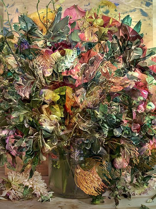 © Abelardo Morell.   Flowers for Lisa #27  , 2016.