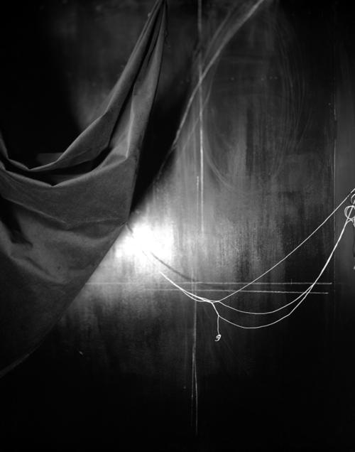 © Lauren Semivan.   Black Drape  , 2006.