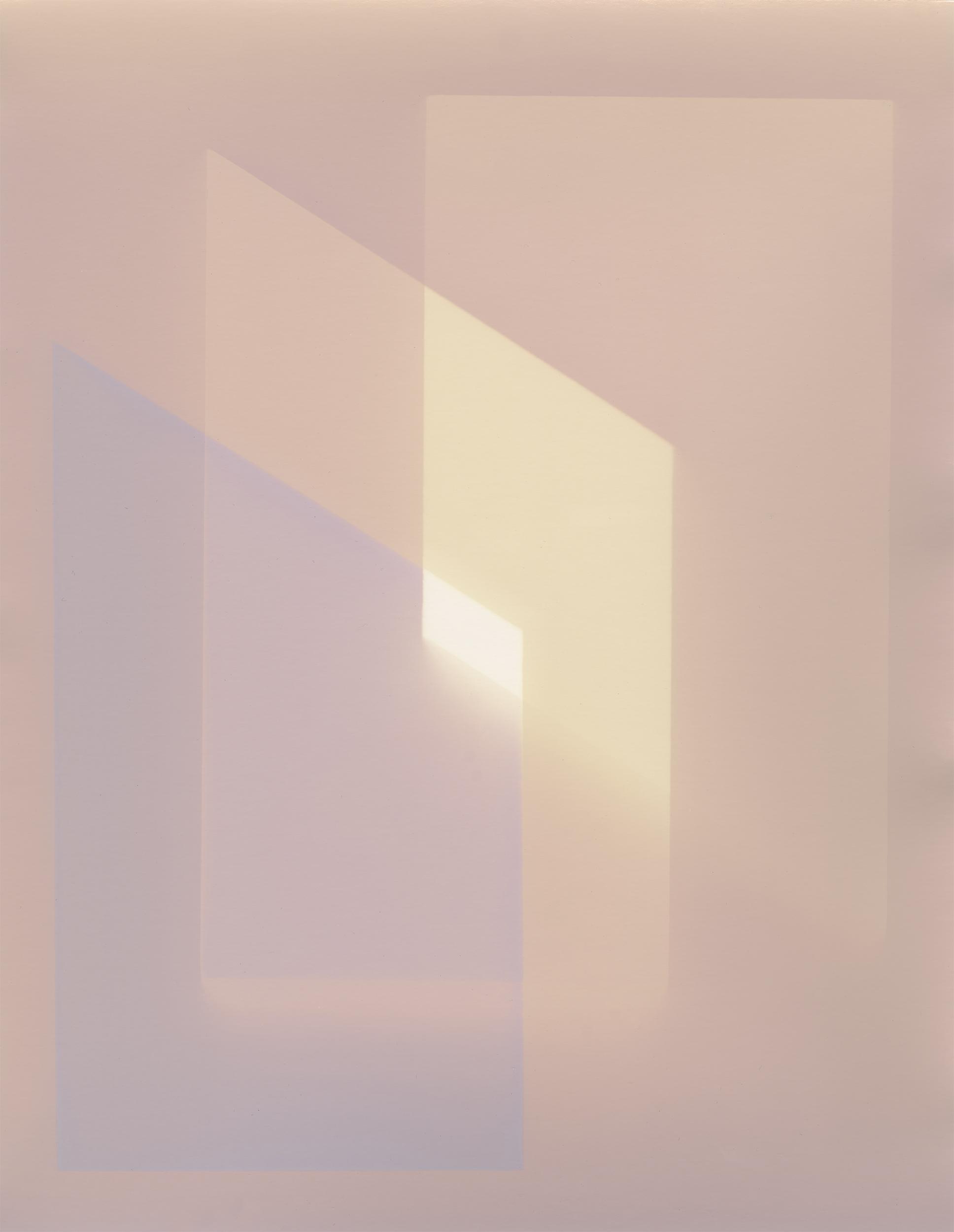 Image © Rachelle Bussières.  Le Temps qui Change , 2018. Lumen print on gelatin silver paper, 14 x 11 inches, Lumen print on gelatin silver paper, unique. Courtesy of the artist.