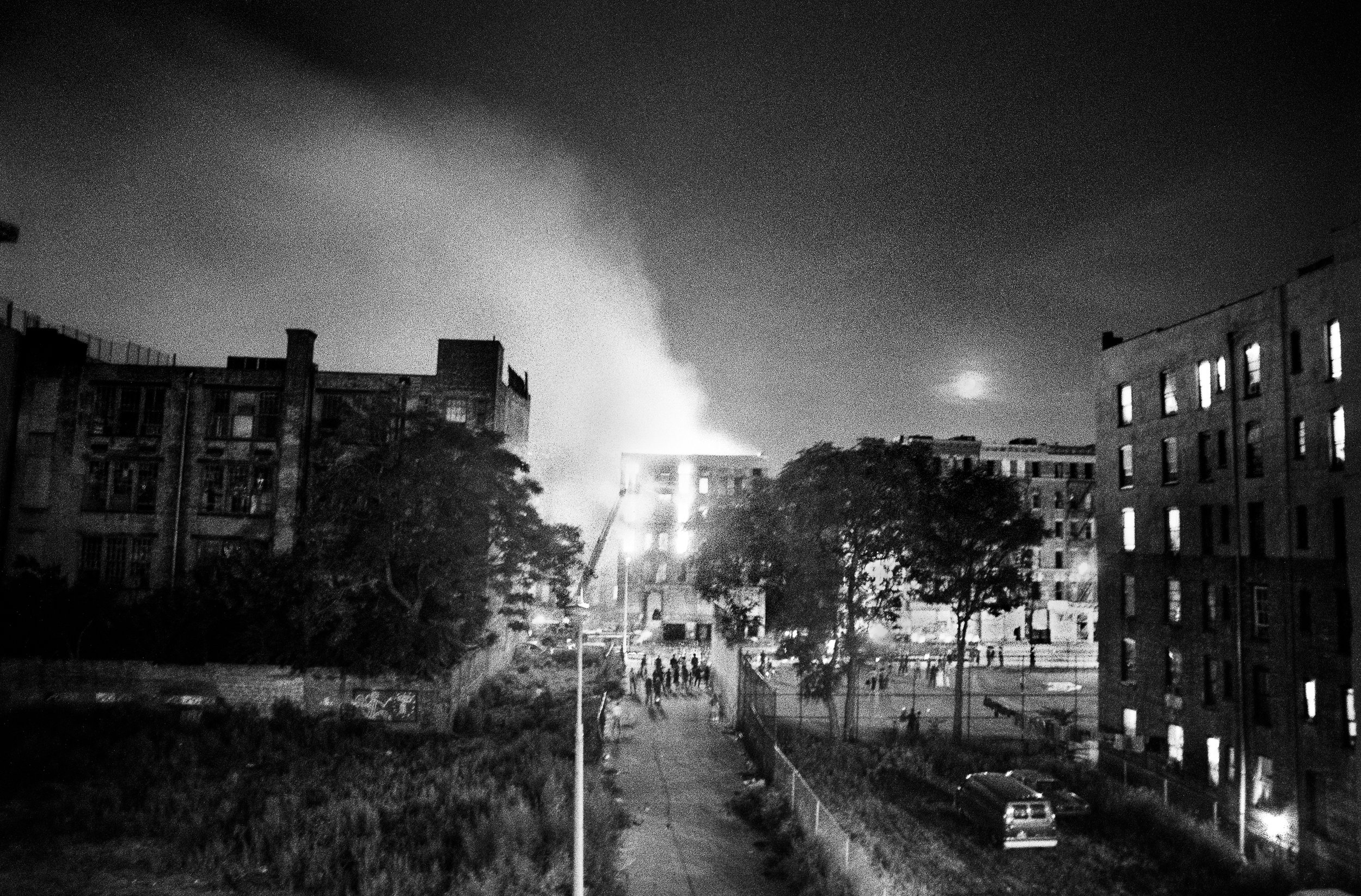 Burning Building with Moonrise, East 4th Street, 1984 (Invisible City)05Sept-Oct84-9a.jpg