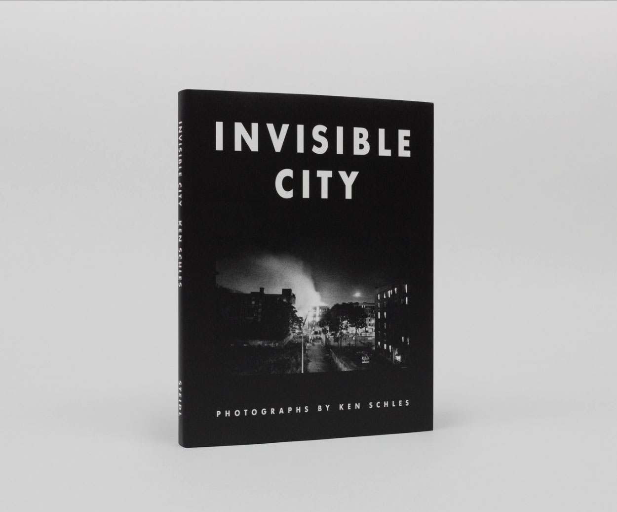 Cover of the celebrated book  Invisible City  by ken Schles