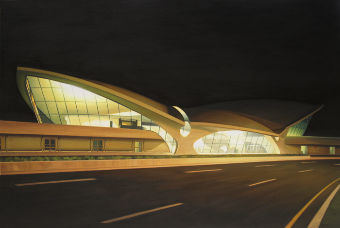 TWA Terminal At Night