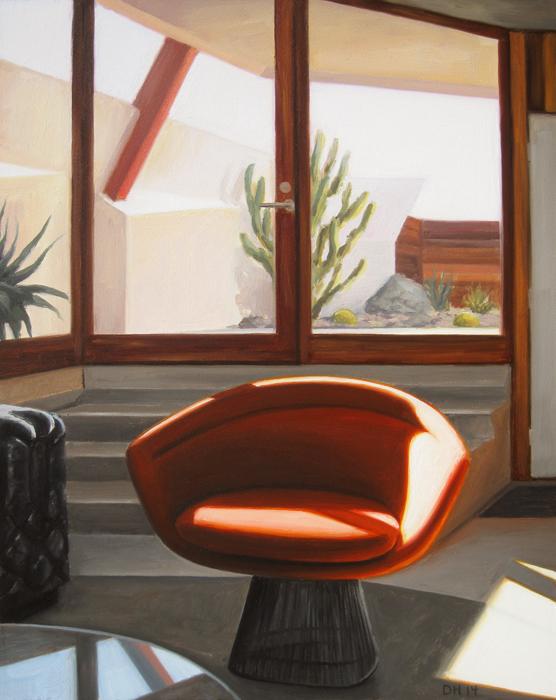 Platner Chair - Day