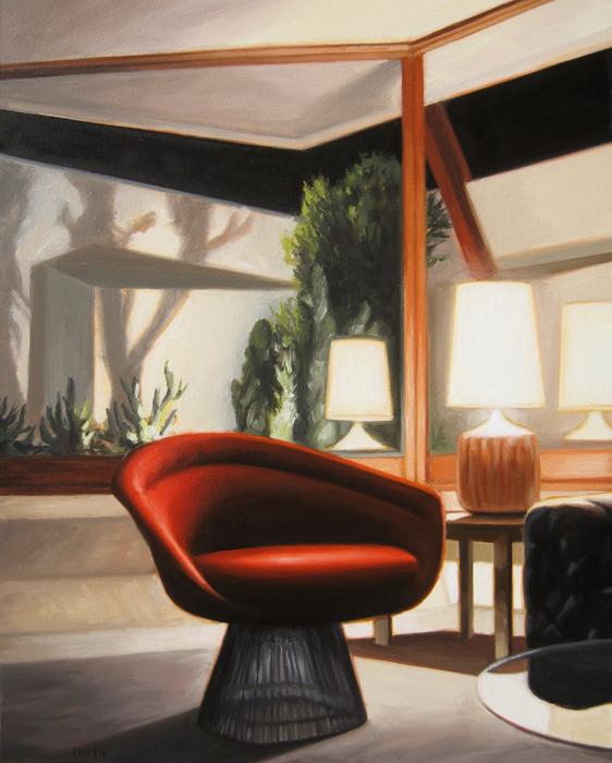Platner Chair - Night