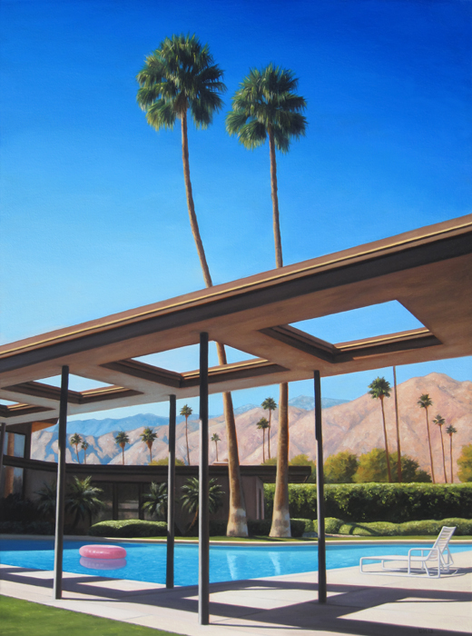 Twin Palms and Pool