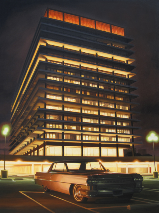 DWP Building At Night