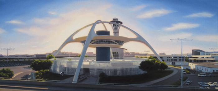 LAX Theme Building Panorama